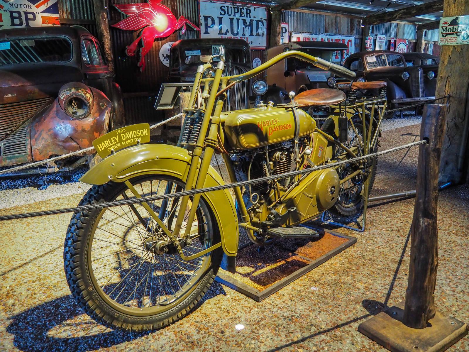 Harley Davidson Herberton Historic Village