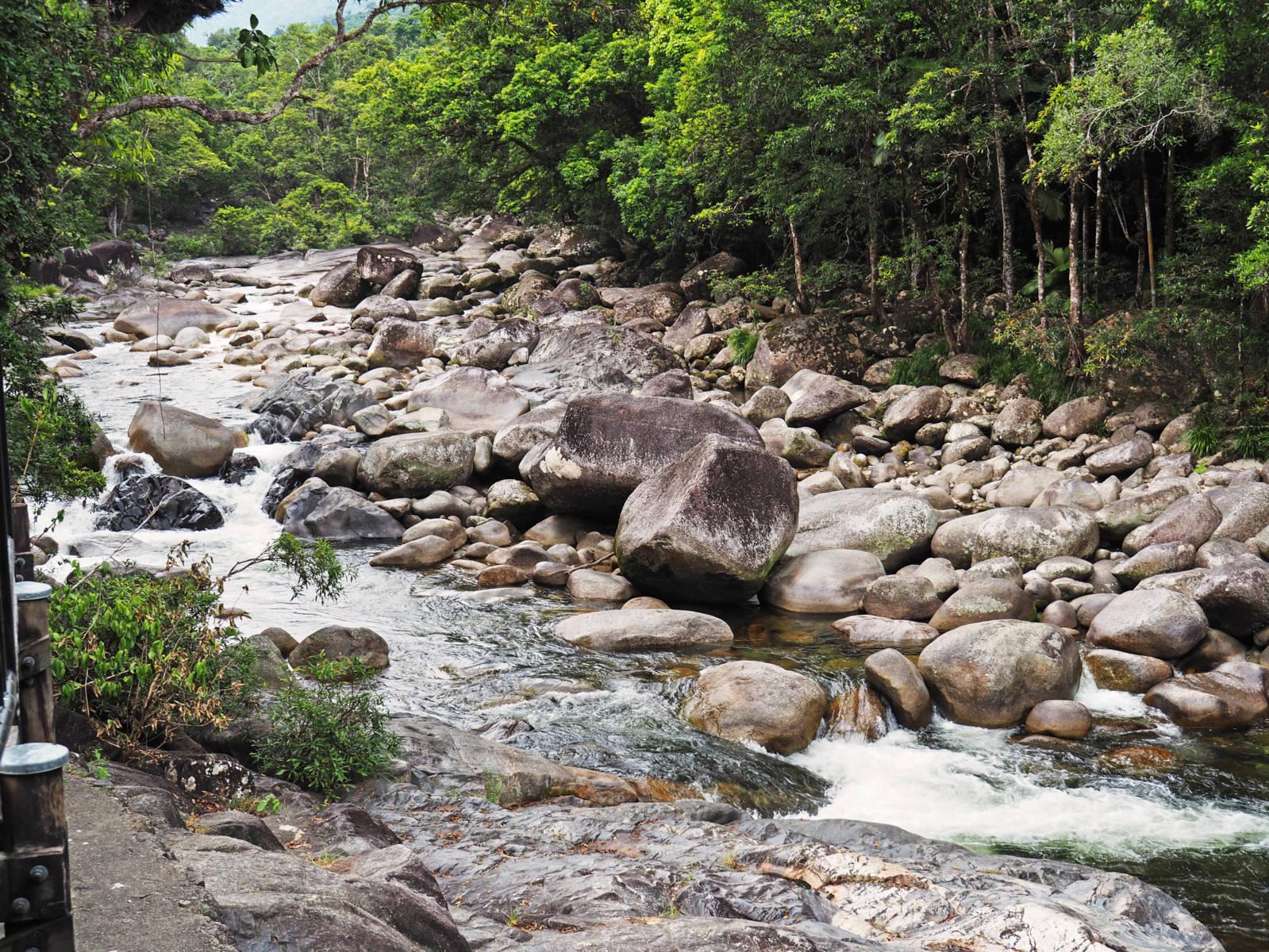 Gorges de Mossman riviere