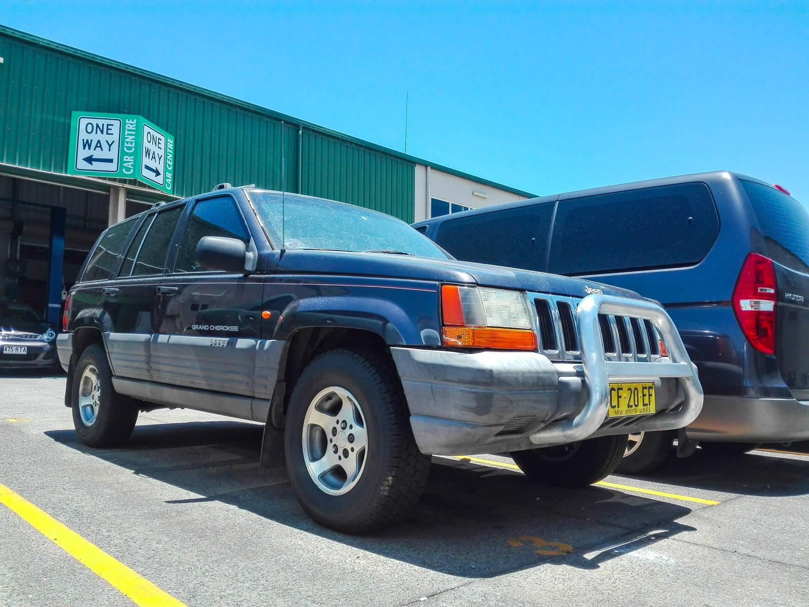 Acheter Jeep Australie